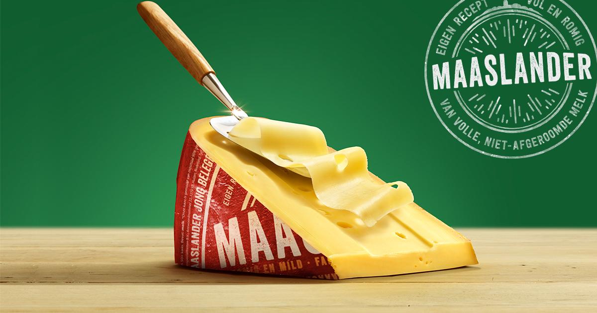 100% gratis Maaslander kaas plakken | Geld terug actie